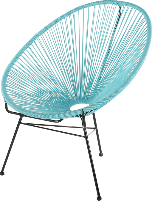 fauteuil ipanama bleu