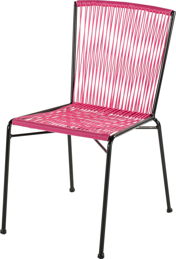chaise ipanema fushia