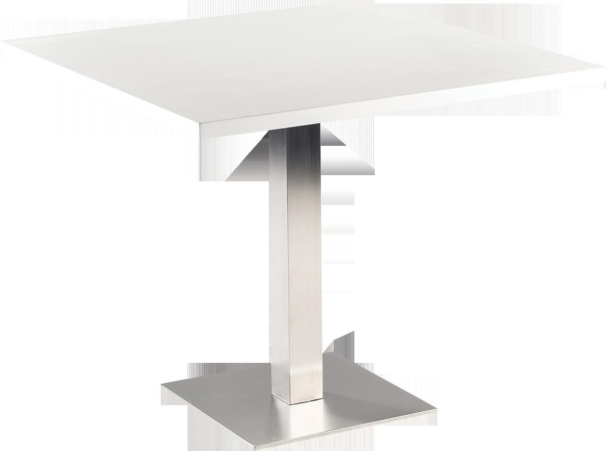 table hauteur diner stan H72. 90x90