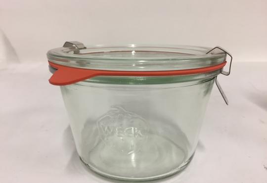 bocaux Weck 370 ml avec couvercle