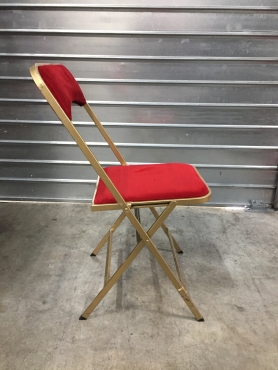 chaise joker or et rouge classee M1+ chariot de manutention