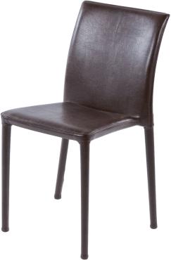 chaise venise cuir havane