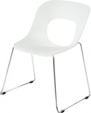 chaise hole white
