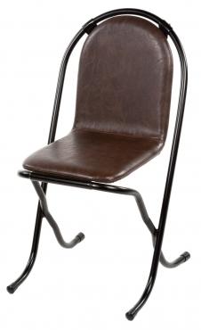 chaise kuba cuir havane