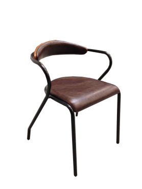 kuba fauteuil cuir havane