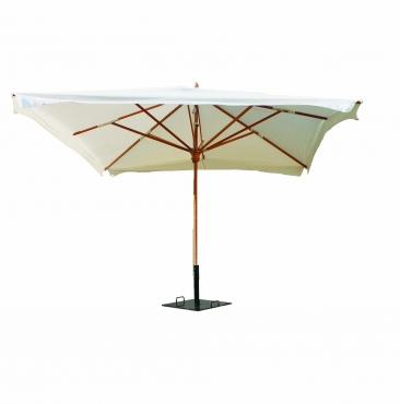 parasol  3m x 3m écru
