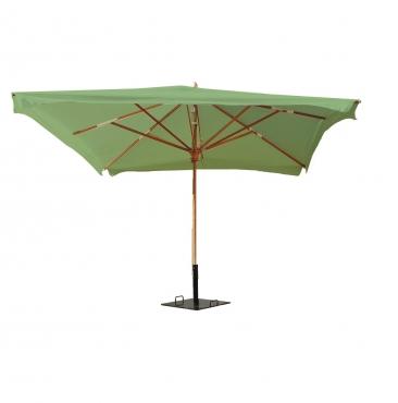 parasol 3mx3m amande
