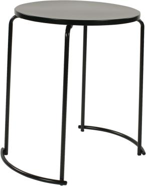 tiketac table noire H75 Ø60cm - 2 pers