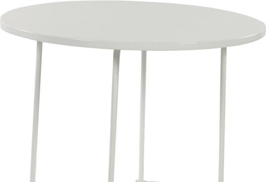 tiketac table blanche  H75 Ø90cm - 4 pers