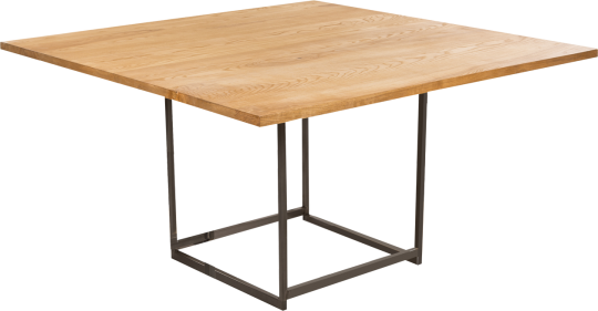 table déko willow 135x135 H74