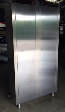 armoire INOX 2000x1000 Portes coulissantes