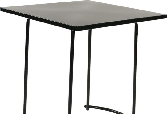 tiketac table noire H75 70x70