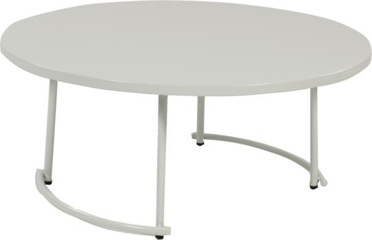 tiketac table basse white H35 Ø90