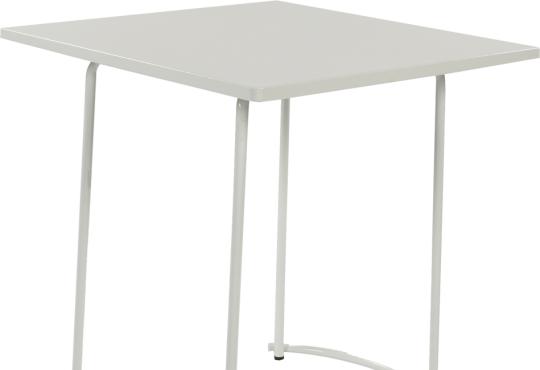 tiketac table blanc H75  70x70