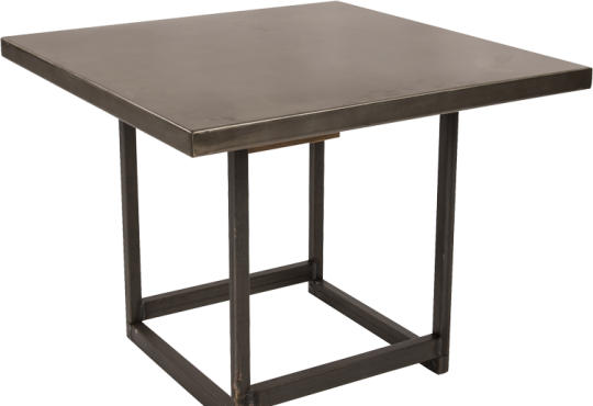 table basse deko gun 60x60H49