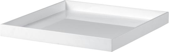 plateau limonadier Plexi blanc 40 x 40