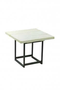 table basse deko wood 60x60 H49