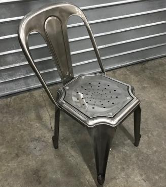 chaise Gunmetal  Modèle Multipl's
