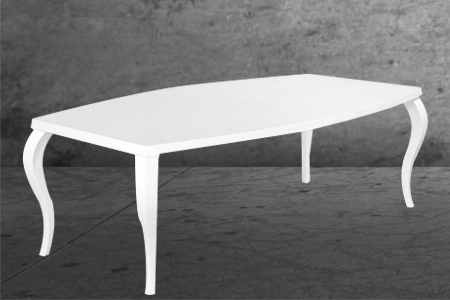 table baroque 220*130 pieds courbe