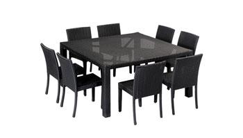 1 table tressee enfant + 8chaises enfant