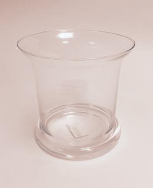 Vase rond évasé Ø 18 H18