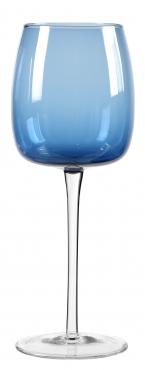 kapri bleu verre eau 40cl