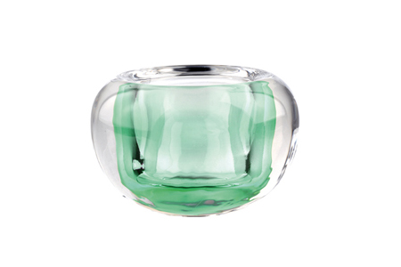 photophore boule D9.5 H6 vert
