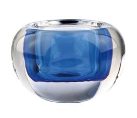 photophore boule D9.5 H6 bleu