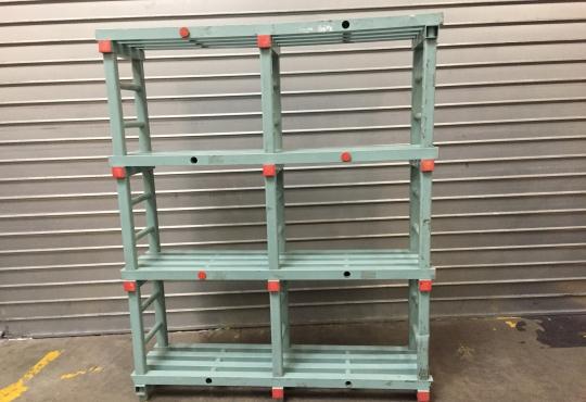 étagere PVC L150 4 niveaux H180