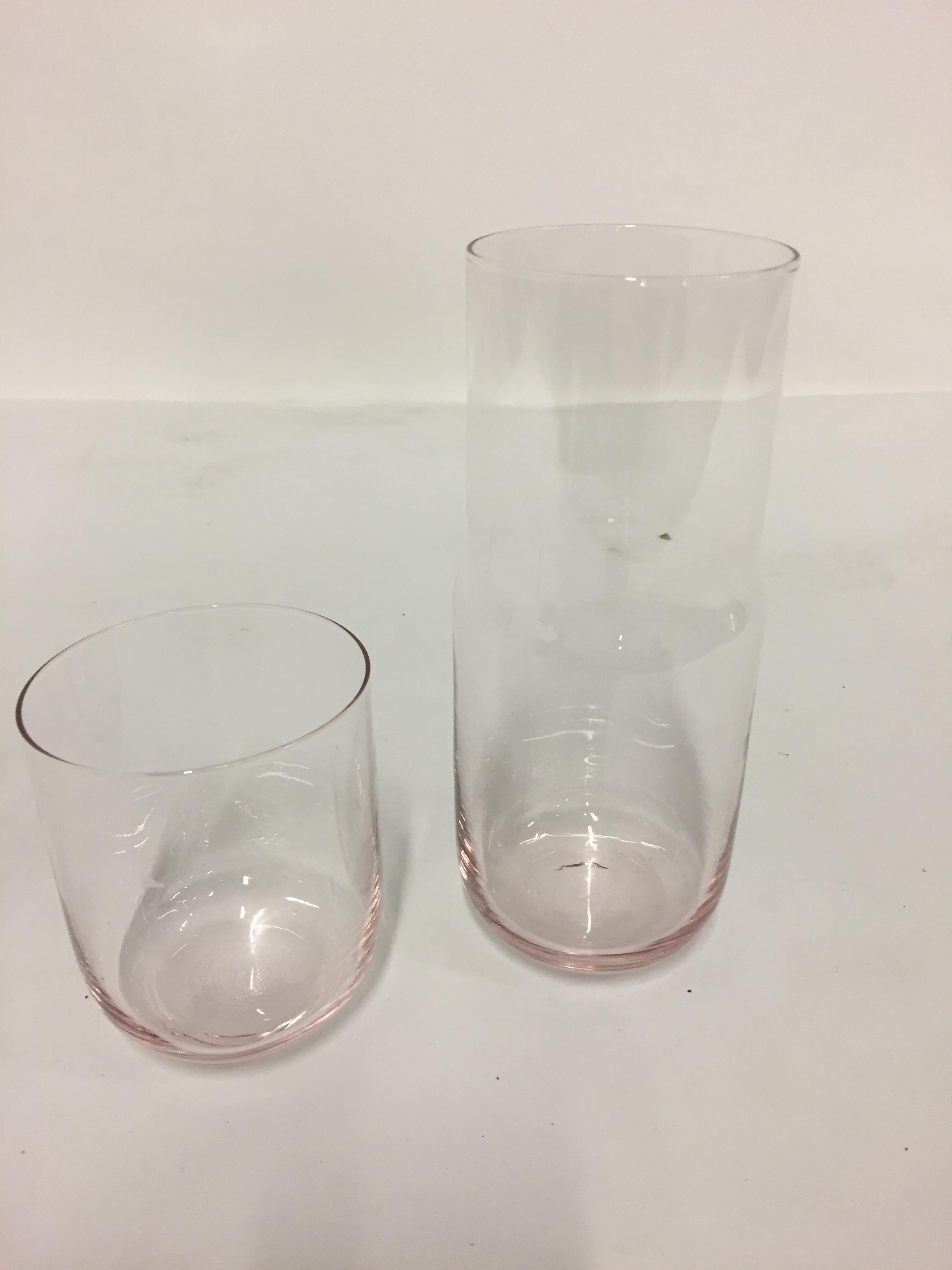 karaf Rose 70cl + verre Rose 40cl