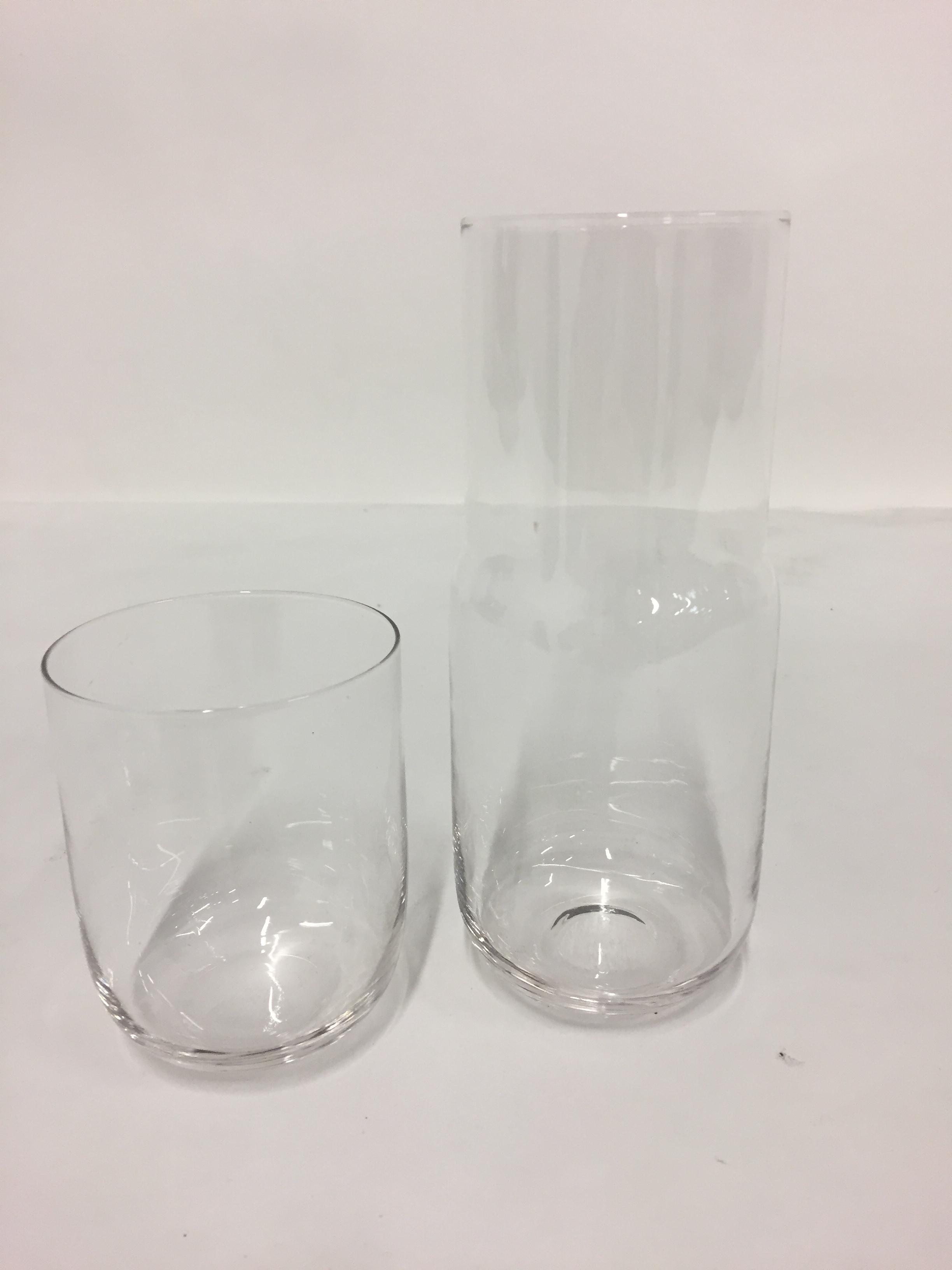 karaf claire 70cl + verre 40cl
