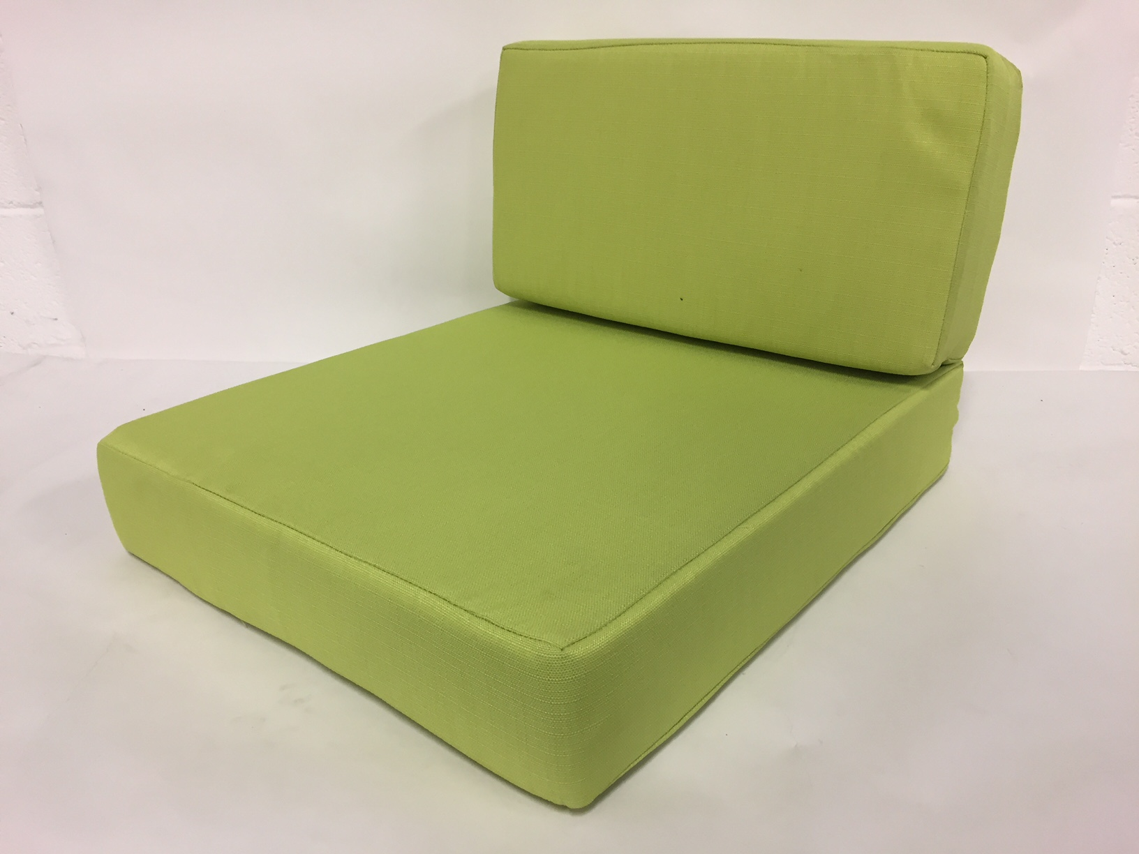coussin fauteuil anis dos+ assise
