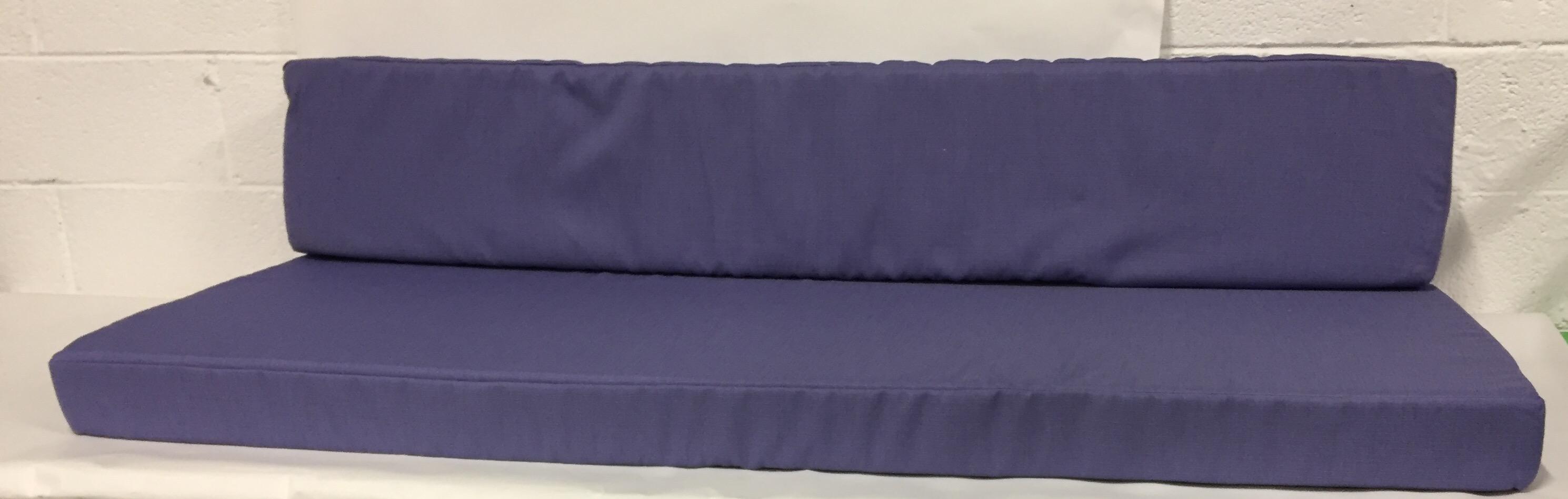 coussin canape 3P lavande assise + dos