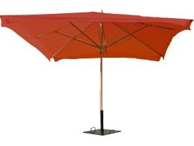 parasol Exotique 3mx3m terracota