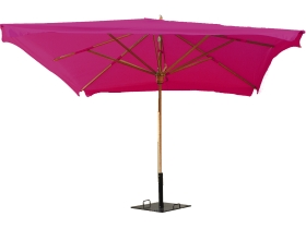 parasol Exotique 3mx3m fuschia