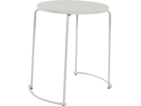 tiketac table blanche  Ø60cm - 2 pers