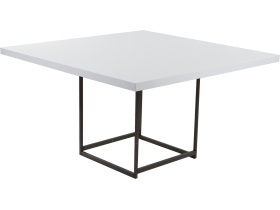 table blanche stratos 135x135 H74