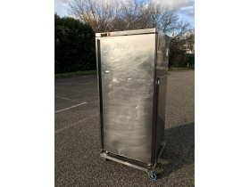 armoire 500L froid + avec chariot inox
