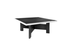 table no wood LOUNGE 145x145 h.63