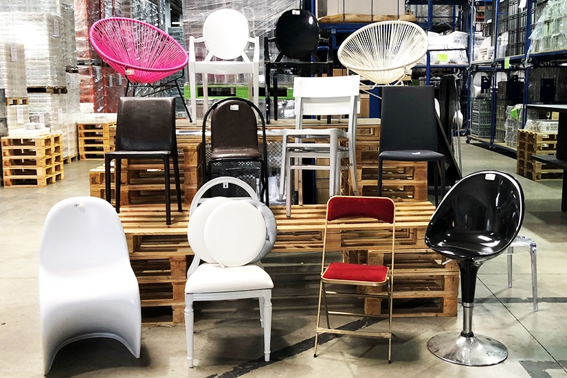 Destockage chaises
